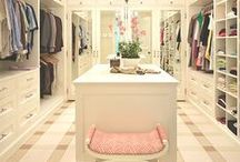 Organizing: The Ultimate Closet / In a perfect world.....