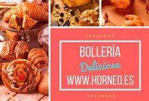 BOLLERIA / Nuestra familia más madrugadora, Croissant, napolitana, ensaimada.., desayuno y almuerzos con todo el sabor de la más clásica tradición, desde el primer rayo de sol.