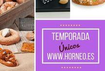 TEMPORADA / Productos de temporada: Monas de Semana Santa, Productos de #Navidad, #Roscones de #Reyes, Coca amb Tonyina. Delicias de temporada