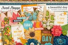 SCRAPBOOKING: Digital Scrapbook Kits / Scrapbooking the Digital Way