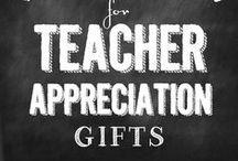 SCHOOL: Teacher Gifts / school