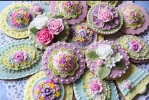 Let's Bake | Detailed Desserts / Beautifully designs to eat