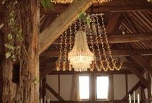 Barn Lighting / Create a cosy atmosphere with lighting in our barn!