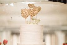 Wedding Cake Toppers / Add a cute personalised touch to your wedding day!