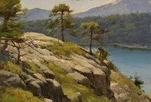 Пейзажи  /  Art - Landscape