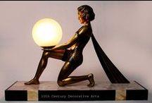Art Deco - Art Nouveau - Lamp