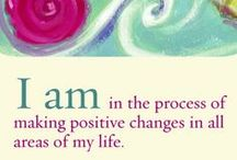 ˚°◦ღ Affirmations / Affirmations are positive messages that you make to (new) beliefs of yourself .