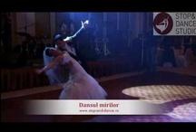 Cursuri de dans pentru nunta / Videoclipuri cu o parte din coregrafiile lucrate cu miri www.stop-and-dance.ro