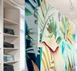 digital printed wallcovering / Vescom offers digital printed wallcovering and ensures you can exactly translate that one idea into a beautiful print at any size. A drab office environment will be transformed in no time at all into a breeding place of inspiration. Hotel guests will believe themselves in a leading world city and children will not believe their eyes when they see their heroes in action as large as life on the walls of the hospital. The possibilities with Vescom's digital printed wallcovering are endless.