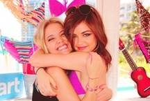 Lucy Hale and Ashley Benson / by Shelby Annamarie