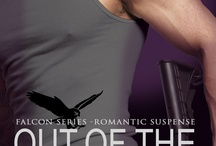 Out of The Dark / This is about Mac and Emily who are the main characters in my first Falcon Series Romantic Suspense book