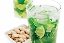 Mojito ♥ / The best drink ever! only lime, mint, cane sugar, soda and white rum :) i drink it everywhere :D :3 i like it ♥
