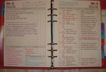 Diaries :) / I like planning. I like to have things a little organized. I like to draw diary and decorate it. :))
