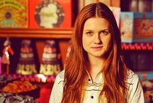 Bonnie Wright / Bonnie is actress .. Giny Weasley from Harry Potter :) *GORGEOUS AND VERY BEAUTIFUL REDHEAD! ♥