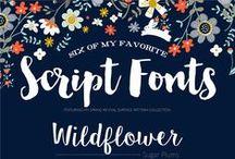 Font obsession / No soy diseñadora gráfica, ¡pero hay fuentes que son simplemente adorables!