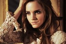 Emma Watson / Simply Emma:) I love her in Harry Potter and she is amazing and beautiful lady:)