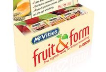 Fruit & Form - McVitie's / DIRECT MARKETING S.A. handled the launch of McVitie's Fruit & Form in the Lebanese market. Consumers looking for a convenient snack on the go will appreciate the 3 individually wrapped portions in each pack, making Fruit & Form ideal for any snacking occasions on the move. With only 55 cal per biscuit, McVitie's Fruit & Form is the perfect choice for a guilt free, satisfying and tasty biscuit snack.  The creative sampling kit which was adopted for a pan-arab campaign produced in Lebanon.