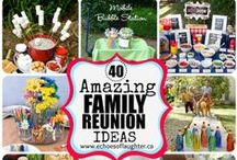 Family Reunions / Ideas, tips, tricks, and advice on everything family reunion related!