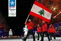 SUPPORT TEAM LEBANON - SOCHI OLYMPICS 2014