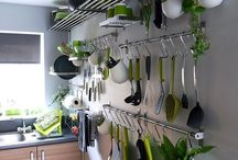 k i t c h e n / Kitchen decor and ideas to create space.