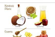 s k i n  c a r e / Health remedies for body, skin, teeth