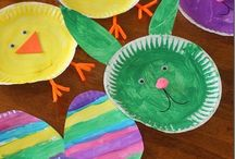 e a s t e r / Do it yourself Easter crafts & food.