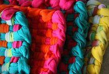 Textiel knutselen