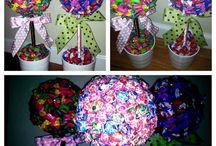s w e e t  t r e e s / Do It yourself Lollipop, Candy Bar Trees/Centre piece/Boquet for birthdays
