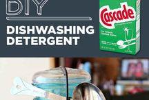 c l e a n i n g / Household cleaning tips & tricks.