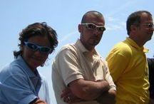 Qualche foto dei nostri skippers.... / Ecco alcuni dei nostri skippers....che vi accompagneranno nelle vostre vacanze in barca a vela....