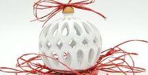 NATALE 2016 - La cura del particolare / Oggetti decorativi modellati a mano e ispirati alla migliore tradizione natalizia, con un tocco contemporaneo!