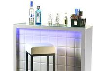 Home Bar & Barware / Beautiful home bar ideas and everything needed to keep one stocked!