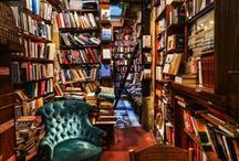 Libraries & Bookstores / Cool, cute, unusual bookshops and libraries.