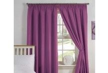"""Pencil Pleats Curtains / We offer a huge range of readymade pencil pleat, 3"""" tape curtain pairs, and it is growing every season. We have all your needs covered. Available in thermal, light reducing, light weight, heavy, lined, inner lined, blackout and tiebacks. We offer the most popular sizes; Fabric ranging from polyester, 100% cotton, half panama, faux silk, linen look, embossed, textured, faux suede, velvet and jacquard. In all designs; plain, floral, stripes, checked & animal prints."""
