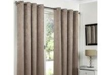 Eyelet Thermal Blackout Curtains / These are pairs of luxury linen look effect thermal blackout curtains. The face fabric has a linen weave effect texture and has soft silky character made up of 100% polyester, which drapes beautifully creating a modern and stylish look. These curtains are 100% blackout, created by an interlining and outer lining. They are finished with chrome ring eyelets. These curtains BLOCK OUT SUNLIGHT, ELIMINATE DRAUGHT, REDUCE NOISE, OFFER THERMAL, CREATE WARMTH IN THE WINTER AND COOLNESS IN SUMMER.