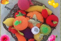 Amigurumi oyuncaklar / El emeği örgü oyuncaklar