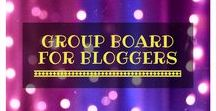 Group Board for Bloggers / A group board for bloggers to share all of their favourite posts! All themes allowed, as long as they are PG, but the board is for blog posts only - no advertising, etsy or Amazon. Send me a PM with a request to join the board! www.judyedwinamartin.com