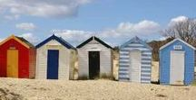 The Seaside / we are so fortunate in the UK to have some truely stunnung beaches...plus a bit of retro with beach huts and deck chairs...it just can't be beaten!