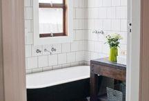 bathing. / bathroom-washroom-restroom