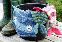 Fun knitting patterns for beginners / by Devin Fredrickson