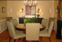 Dining Rooms in style. Interiors. Design Inspirations & Ideas