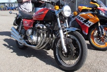 Motorcycles & cars - mostly Motorcycles / Motorcycles and maybe a car or truck or boat but mostly Motorcycles