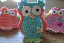 "Crochet Owls (Corona) / *Categorizing my overloaded main ""Crochet (Corona)"" board. Most of the patterns I myself pin ""originally"" to this board are FREE. Enjoy! ¯\_(ツ)_/¯ / by Corona"