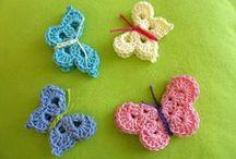 "Crochet Birds and Butterflies (Corona) / *Categorizing my overloaded main Crochet (Corona) board. Most of the patterns I myself pin ""originally"" to this board are FREE. Enjoy! ¯\_(ツ)_/¯ / by Corona"