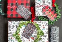 Christmas Gift Tags and Printables / Collection of #Christmas Holiday gift tags you can print at home.