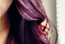 color story: burgundy tones