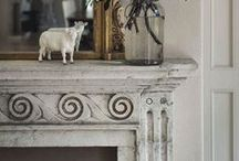Mantels and Fireplaces... / by Joanne Giroux