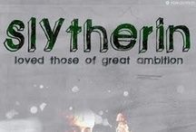 the House of Slytherin / Driven, ambitous and confident wizards. Famous wizard: Robert