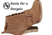 Bargain Boots / Designer boots for a bargain! / by Addington Falls