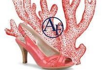 Summer Color #Coral / This summer coral is in with fashion. Check out our pairing of shoes, clothing, and other accessories! / by Addington Falls